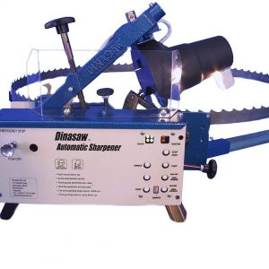 DinaSaw Sharpener Manual Operation with Bevel Sharpening Options (MSA)