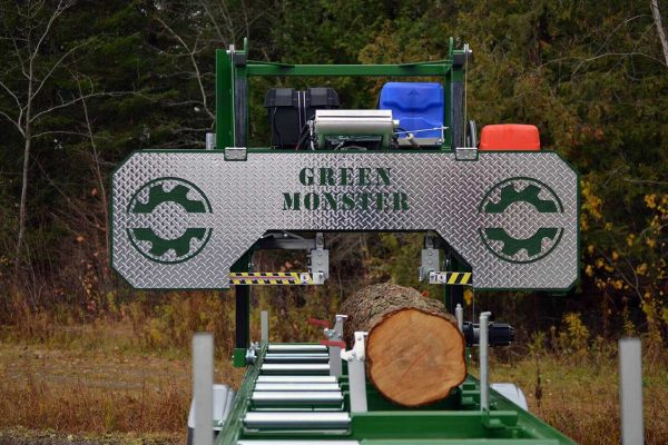 Green Monster Vallee Portable Sawmills