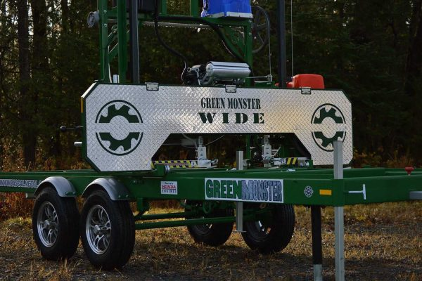 Green Monster WIDE Vallee Portable Sawmills