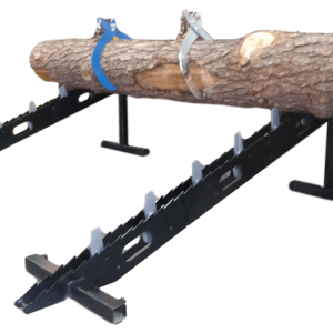 Pair of One-Way Loading Ramp (Max 24″ Logs diameter)