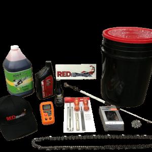 Kit d'entretien pour Processeur à bois Red Runner