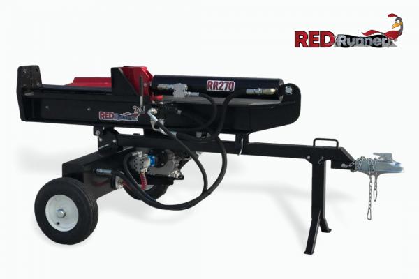 red runner log splitter rr270