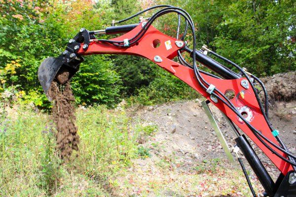 red runner mini excavator 5