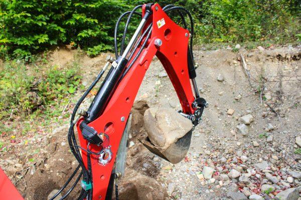 red runner mini excavator 6