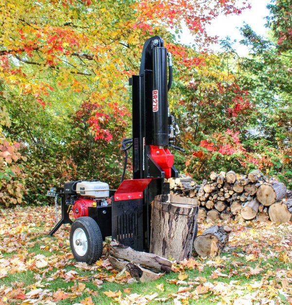 red runner rr270 log splitter vertical 2