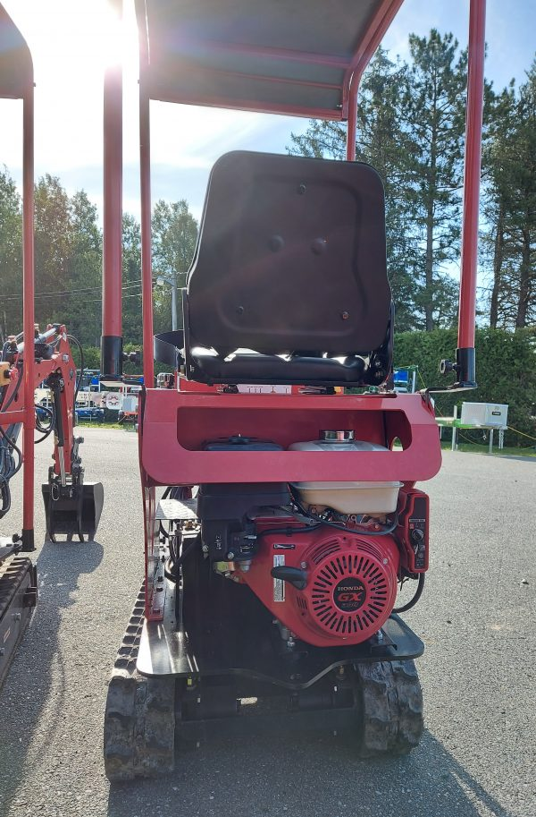 mini excavatrice moteur honda